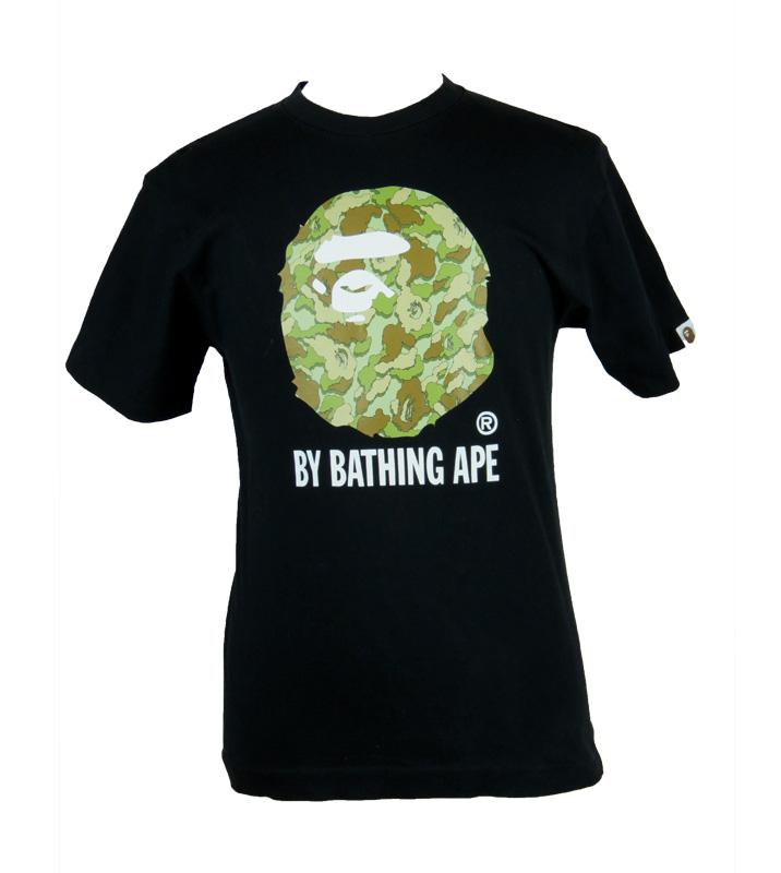 Bape X Kaws >> Bape X Kaws Camo Bathing Ape Shirt 5 Star Vintage