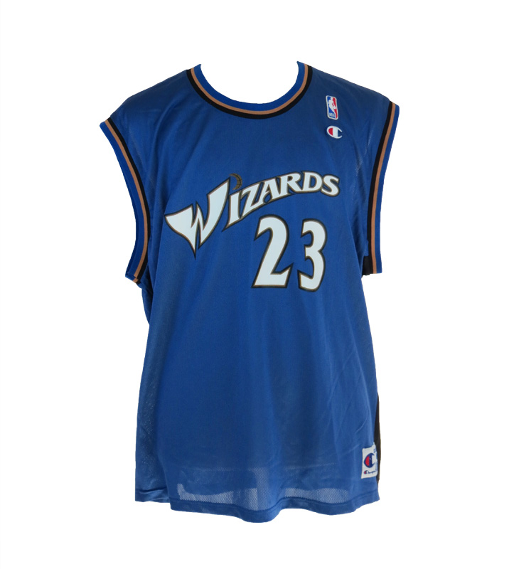 cheap for discount 037dd 5b1e1 Vintage Washington Wizards Michael Jordan Jersey