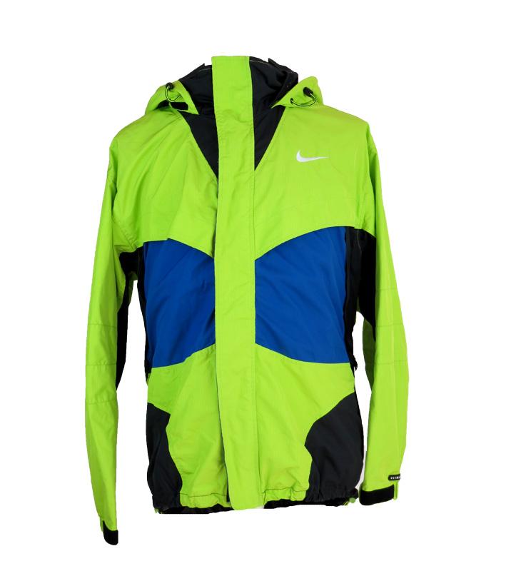 cfaeee4aacf6 Vintage Nike ACG Neon Long Windbreaker Jacket - 5 Star Vintage