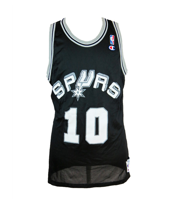 new style 12f68 a8f26 Vintage Dennis Rodman San Antonio Spurs Champion Jersey Large