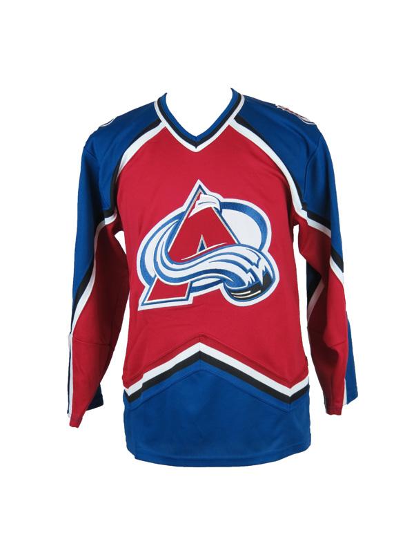 new concept 758a8 29901 Vintage Colorado Avalanche KOHO Hockey Jersey