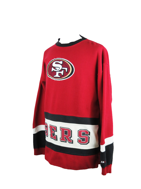 check out b5b0c 1820f Vintage Pro Player 49ers Hockey Jersey
