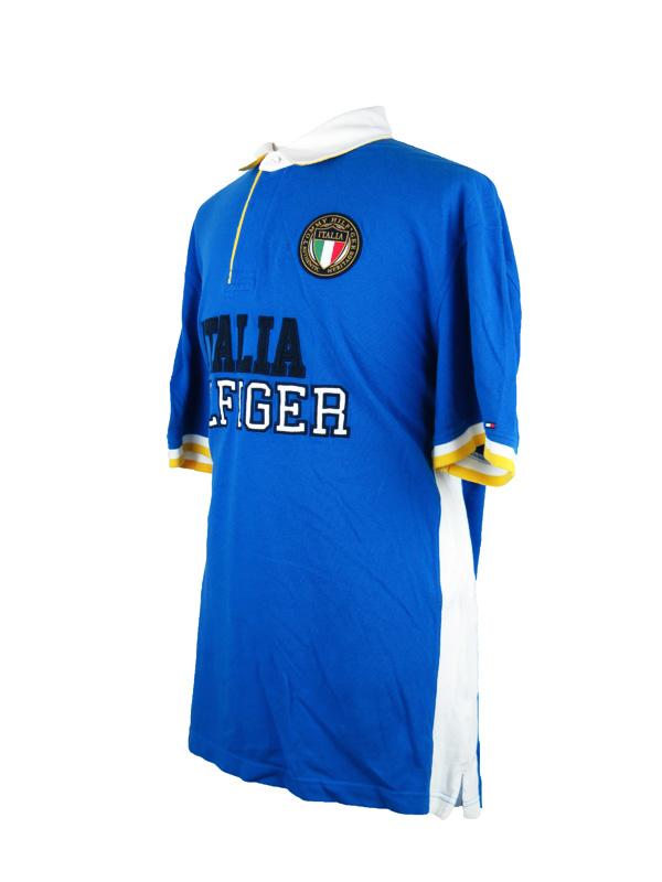 lowest price 451b0 b320d Tommy Hilfiger Italia Blue Polo Shirt