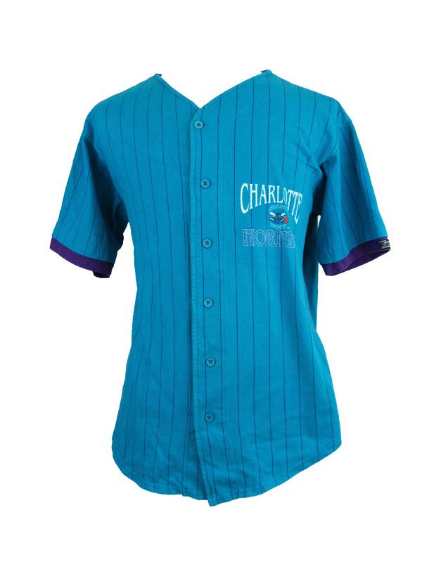 wholesale dealer 9a90f 9affc charlotte hornets baseball jersey
