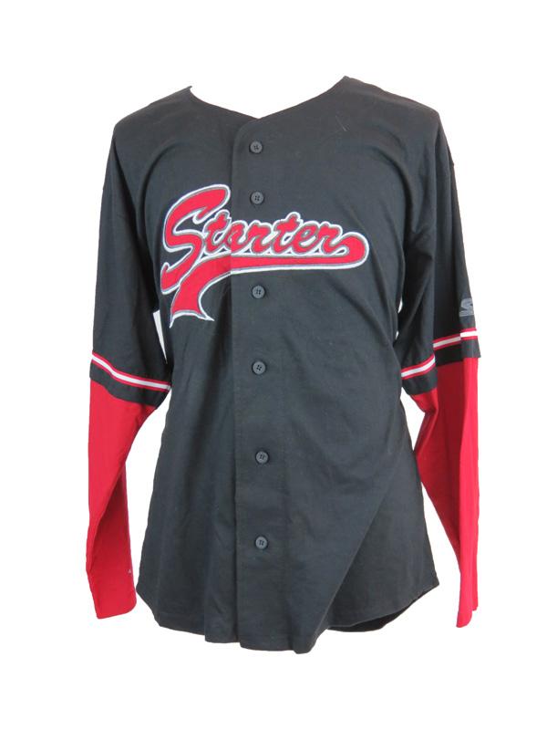 new concept b320b 353e0 DS Vintage Starter Baseball Jersey Long Sleeve