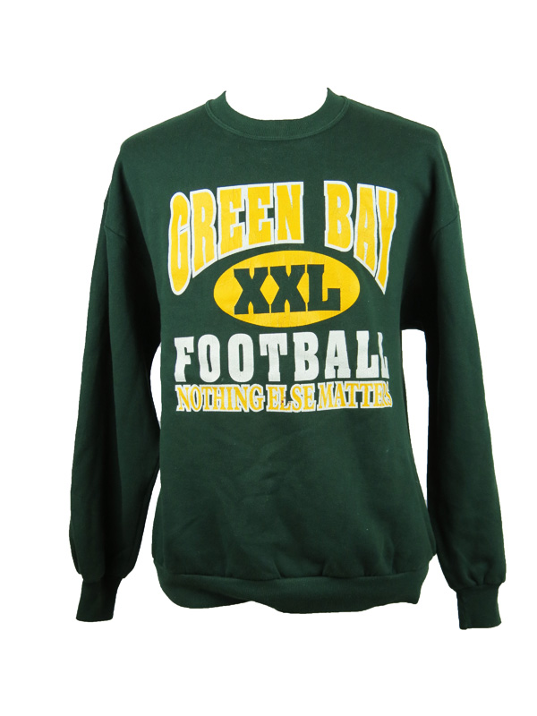 premium selection 089fa 5c9c0 Vintage Green Bay Packers Football Sweater