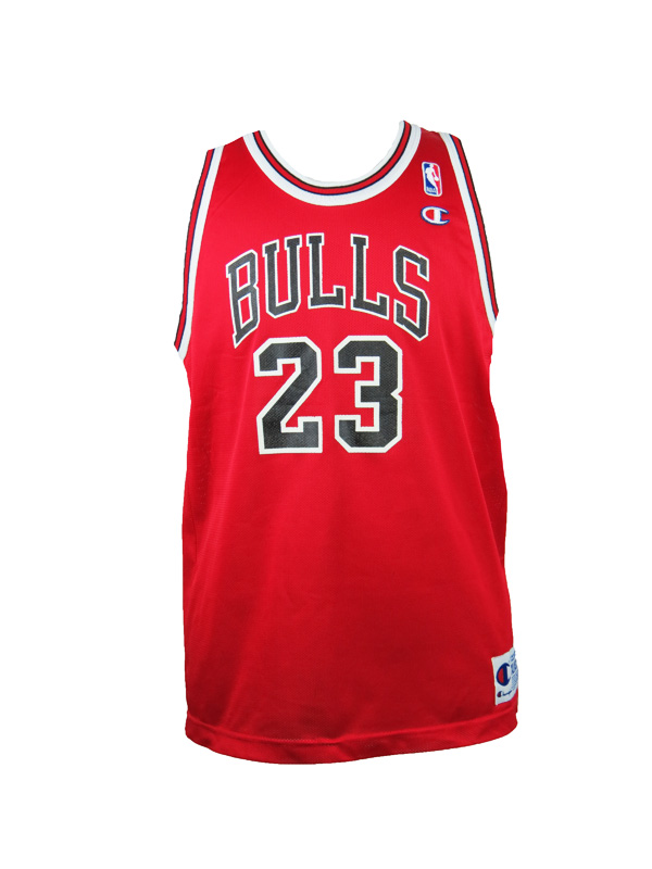 newest 5f2c6 aa30c Vintage Champion Michael Jordan Chicago Bulls Jersey