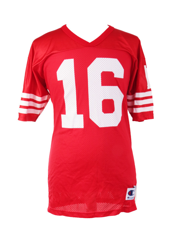 save off b5953 c0ded Vintage Joe Montana Champion SF 49ers Jersey