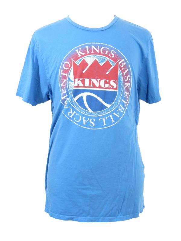 cheaper ab2c4 f51ae Throwback Sacramento Kings Basketball T-Shirt