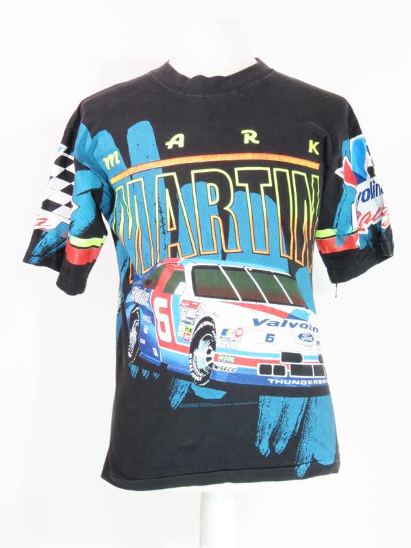 9ffcb161 Vintage Mark Martin NASCAR Valvoline Racing T-Shirt - 5 Star Vintage