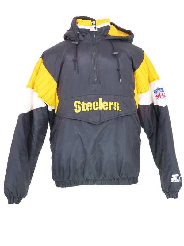 quality design eace0 923e7 Vintage Pittsburgh Steelers Starter Puffy Jacket