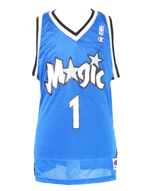 online store 18e07 502ad Vintage Orlando Magic Tracy McGrady Blue Champion Jersey
