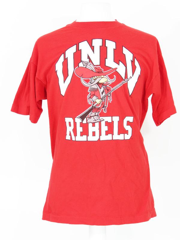 detailed look 67d34 7184b Vintage UNLV Rebels Red T-Shirt