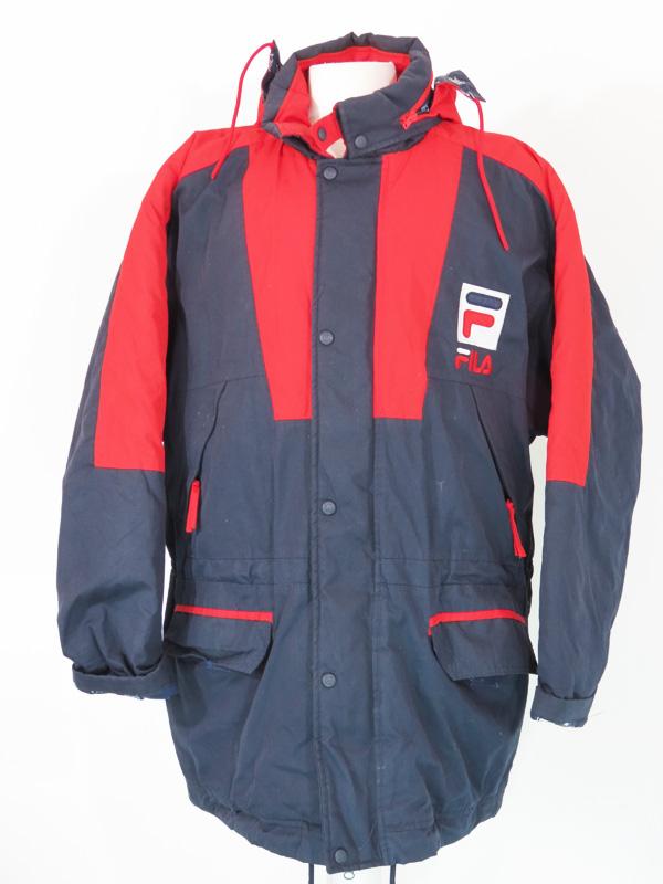 Vintage FILA Winter Trench Coat Jacket