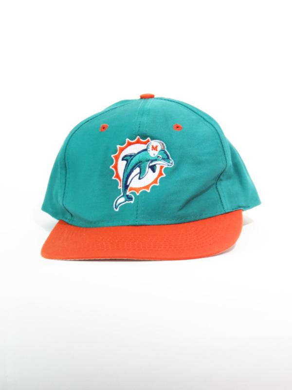 da163cc353188 Vintage Miami Dolphins NFL Snapback Hat. Sale!  15.50  13.50