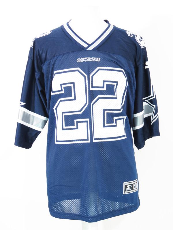 00191afd6ed Vintage Emmitt Smith Dallas Cowboys Starter NFL Jersey - 5 Star Vintage