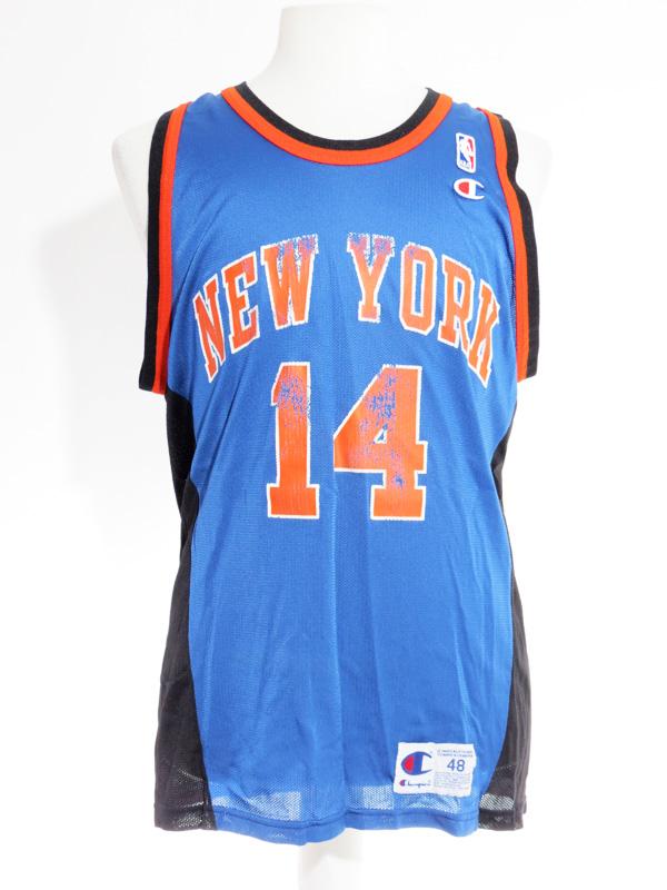 pretty nice bedb8 69977 Vintage NY Knicks Anthony Mason Champion Jersey