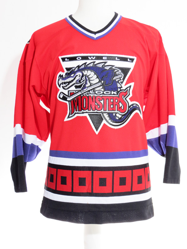 806c5ac8c77 AHL Lowell Lock Monsters Reebok Hockey Jersey - 5 Star Vintage