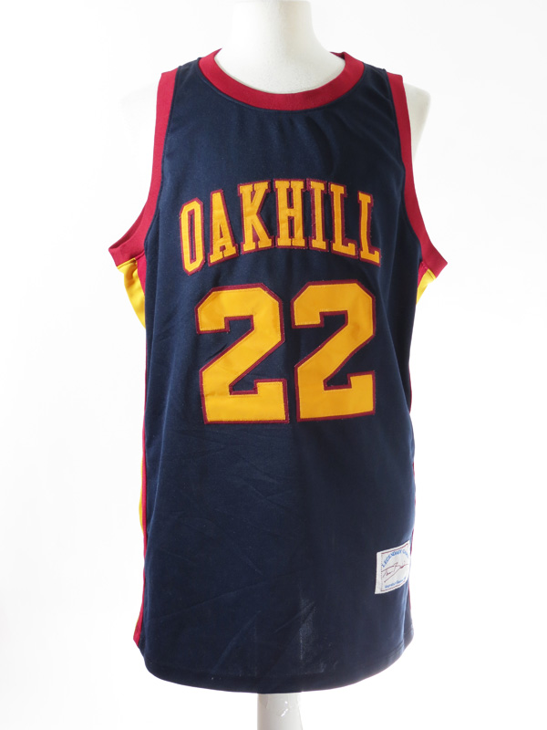 finest selection f94b4 a1b6a Carmelo Anthony Oak Hill Academy Stitched High School Jersey