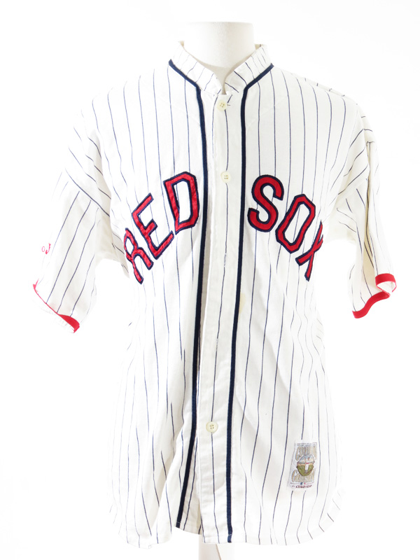 3607ca28f Boston Red Sox 1918 Throwback Striped Starter Jersey - 5 Star Vintage