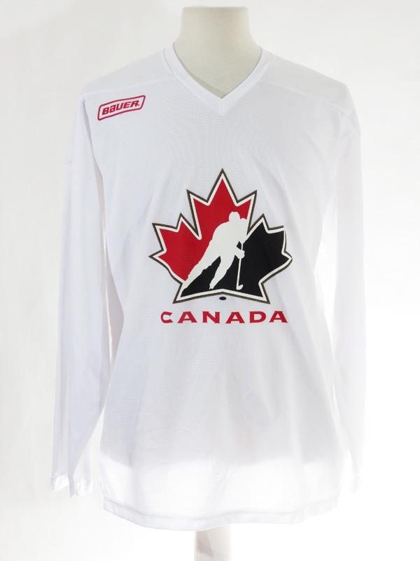 93d33ef84336f White Canada Mesh Hockey Jersey