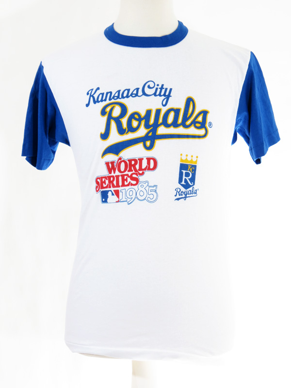 buy online 2c43a 9761c 1985 Kansas City Royals World Series Champions T-Shirt