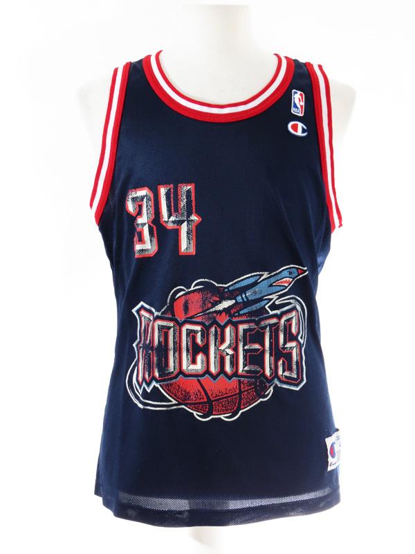 hot sale online 8eef8 c6039 Hakeem Olajuwon Houston Rockets Champion NBA Jersey