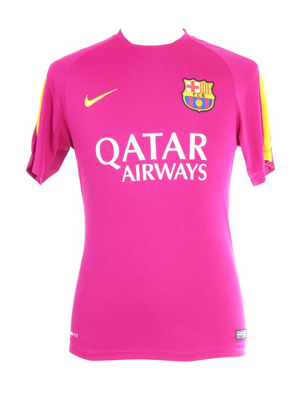premium selection 17e76 09438 Barcelona FC Nike 'Barca' Practice Jersey Medium