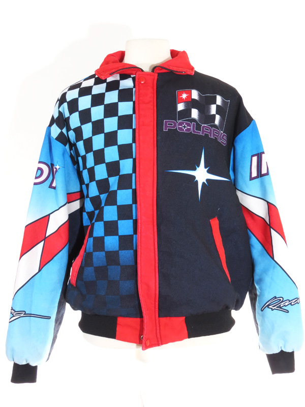 Polaris Racing Checkered Flag Jacket - 5 Star Vintage