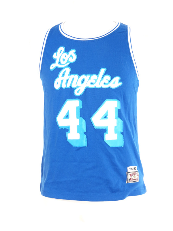 best sneakers c09c0 09191 LA Lakers Hardwood Classic Jerry West Jersey Small