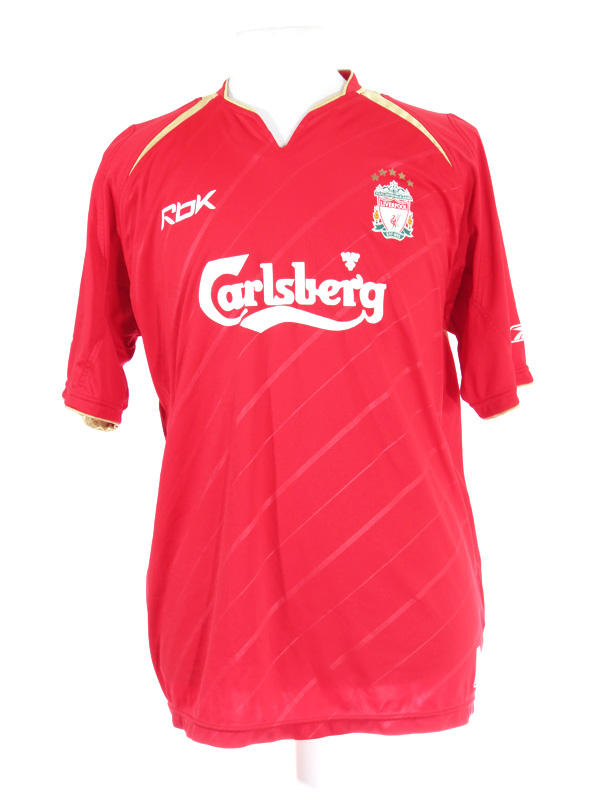 detailed look 12d0e 5a08f Liverpool FC Peter Crouch Faded Reebok Jersey Large