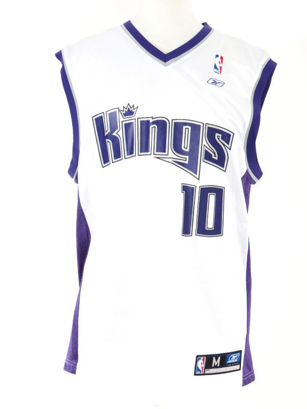 timeless design ff528 1b30d Mike Bibby Sacramento Kings Reebok NBA Jersey