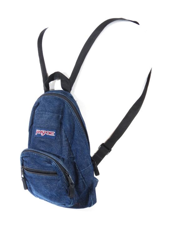 Jansport Denim Mini Backpack 5 Star Vintage