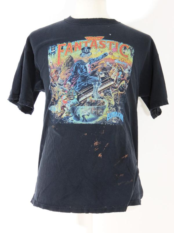 Captain Fantastic Elton John Distressed T Shirt Xl 5