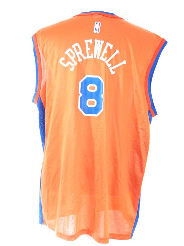 3b85ee9b300 New York Knicks Latrell Sprewell Champion Jersey XL - 5 Star Vintage