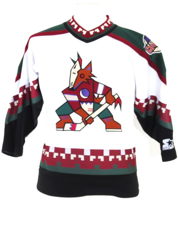 quality design 92977 35e0f Phoenix Coyotes Jeremy Roenick Starter Hockey Jersey