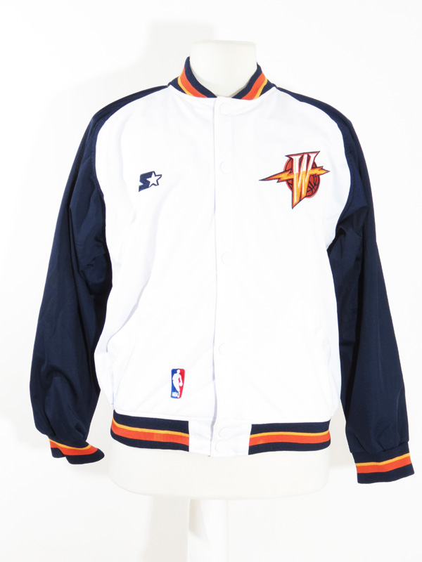 dae605f6129 90s Golden State Warriors Starter Warm Up Sweater - 5 Star Vintage