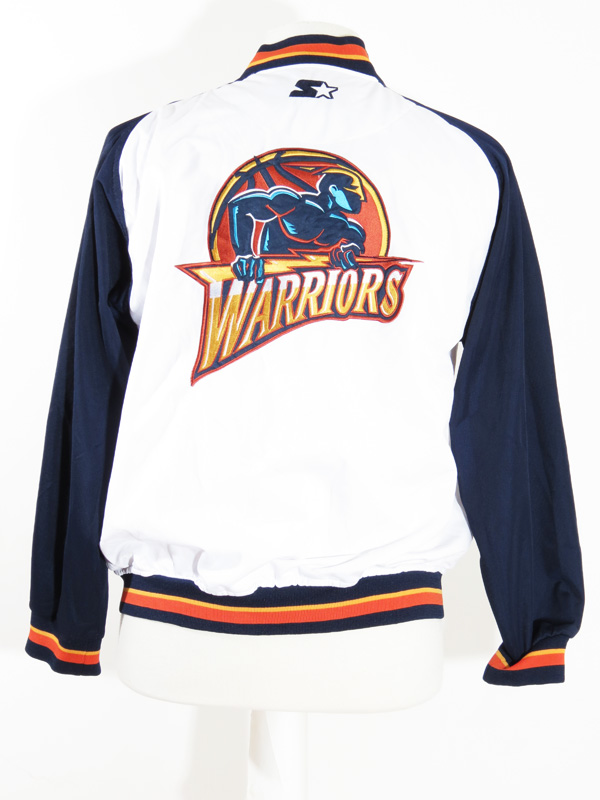 separation shoes ffa24 70104 90s Golden State Warriors Starter Warm Up Sweater