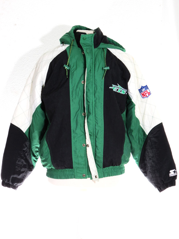 pretty nice 8d648 dcb25 90s New York Jets Green Starter Jacket