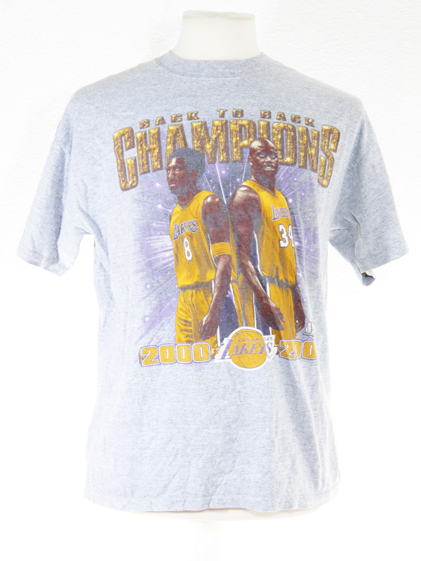 LA Lakers 00-01' Back to Back Kobe SHAQ T-Shirt - 5 Star ...