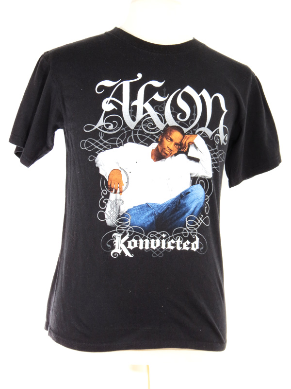 AKON Konvicted T-Shirt Medium - 5 Star Vintage