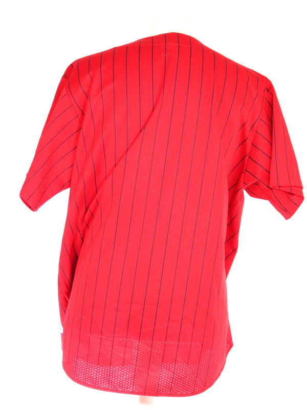 first rate 71322 40e3a NY Yankees Red Pinstriped MLB Jersey XXL