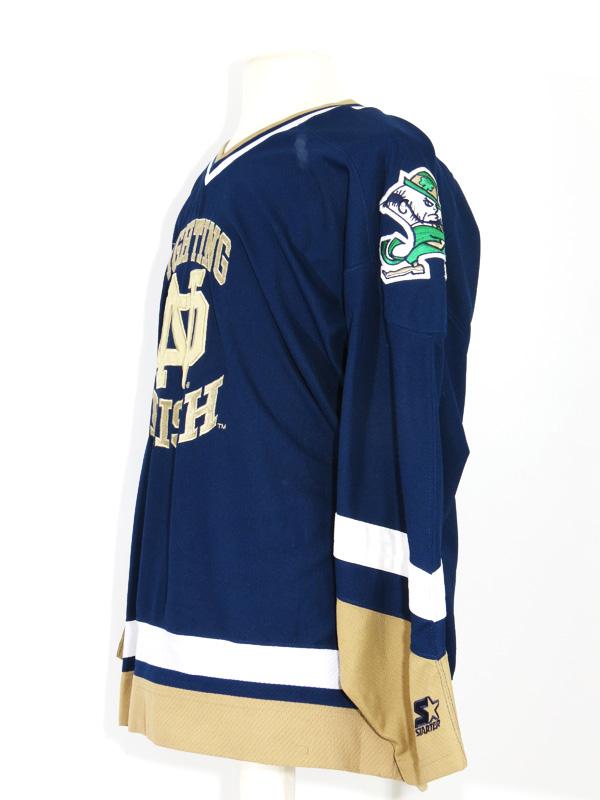 finest selection 39685 afebd Notre Dame Fighting Irish Starter Hockey Jersey.  30.00