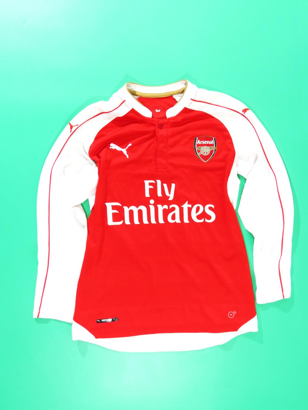 save off fb13e acb3e Arsenal FC Puma Long Sleeve Jersey
