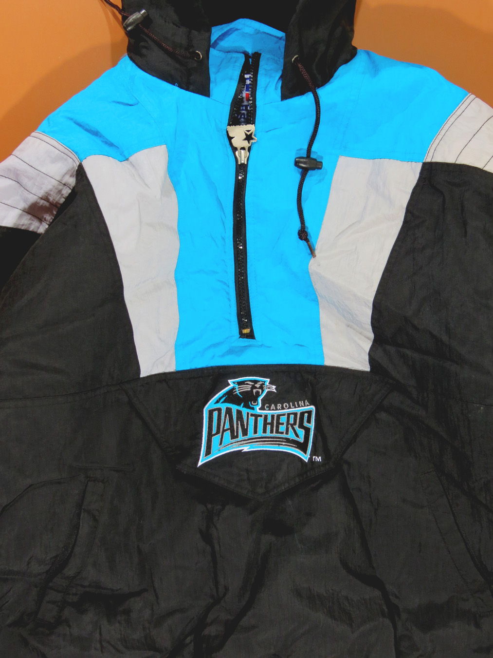 pretty nice 3ea2c 2081f 90s Carolina Panthers Starter Puffy Jacket Large