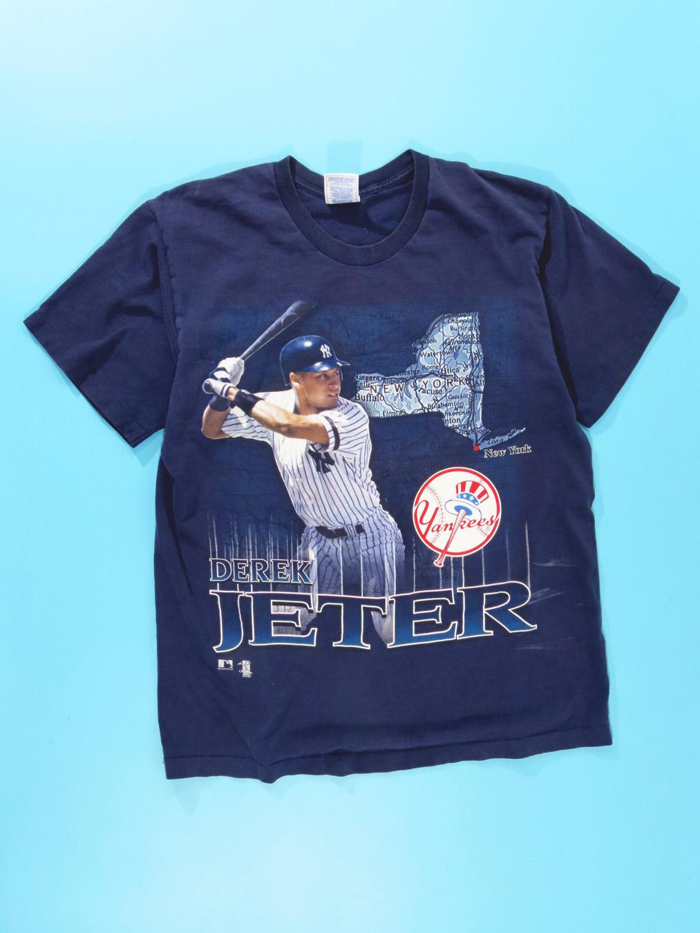cheap for discount 572a3 6d7c8 1997 Derek Jeter NY YANKEES T-Shirt