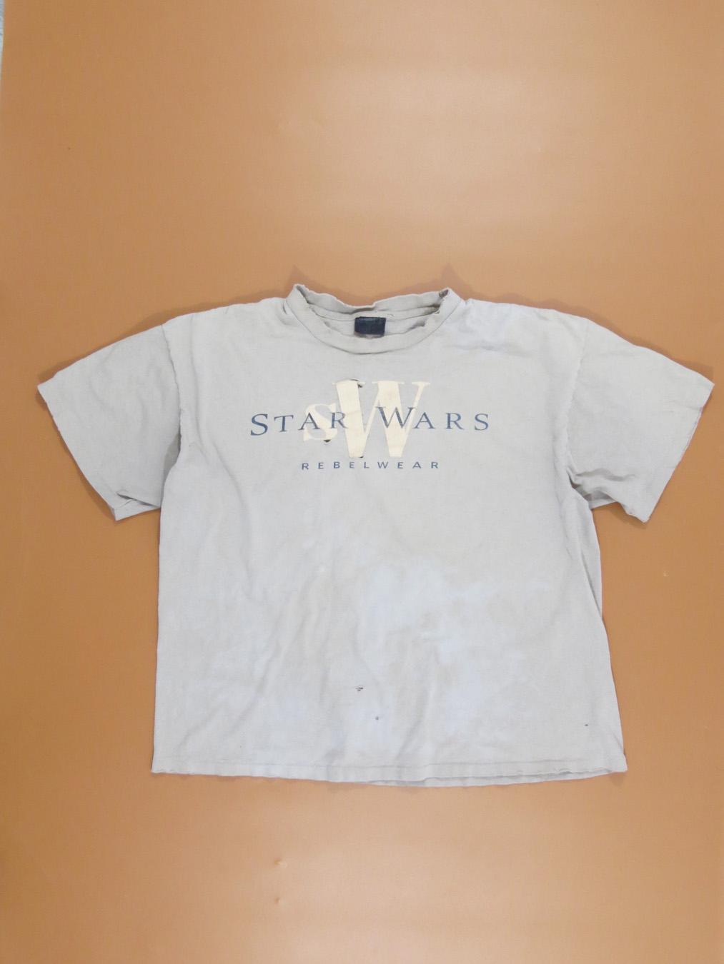Star Wars Distressed Rebel Logo Maglietta Uomo